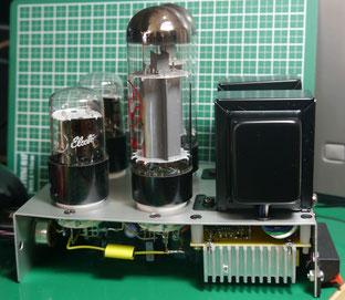 EL34 真空管シングルアンプ自作 DIY EL34 SE AMP