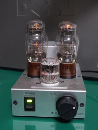 1626 low voltage tube amp 低電圧真空管アンプ