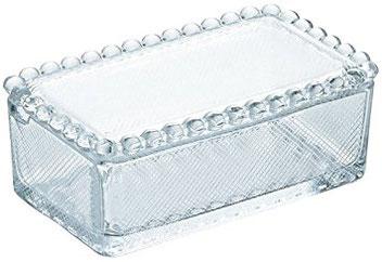 アデリア バターケース クリスタルガラス製 F70604