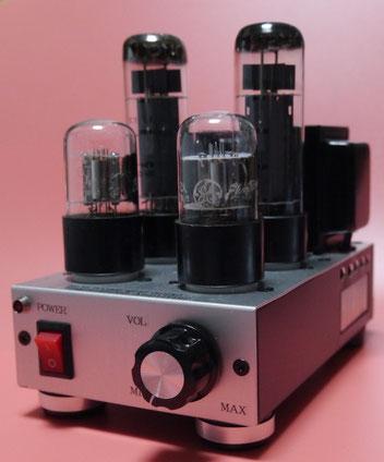 EL34シングルアンプ自作 DIY EL34 Single Ended Amplifier  小型真空管オーディオアンプ自作