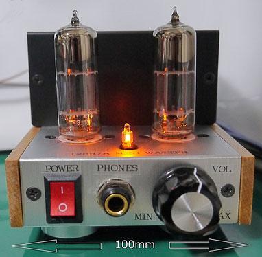 ミニワッター 12BH7A 真空管アンプ製作 DIY stereo mini tube amp
