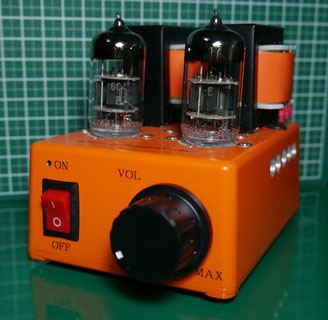 6C45n-E DIY-Audio Single-Ended Simple Tube Amplifier 6C45n-E (6S45P-E) 小型シンプル真空管オーディオアンプ自作