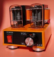 10GF7A SE AMP 小型真空管オーディオアンプ自作