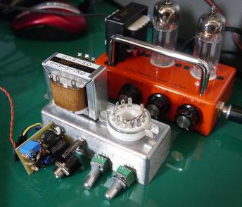 DIY tube amplifier head