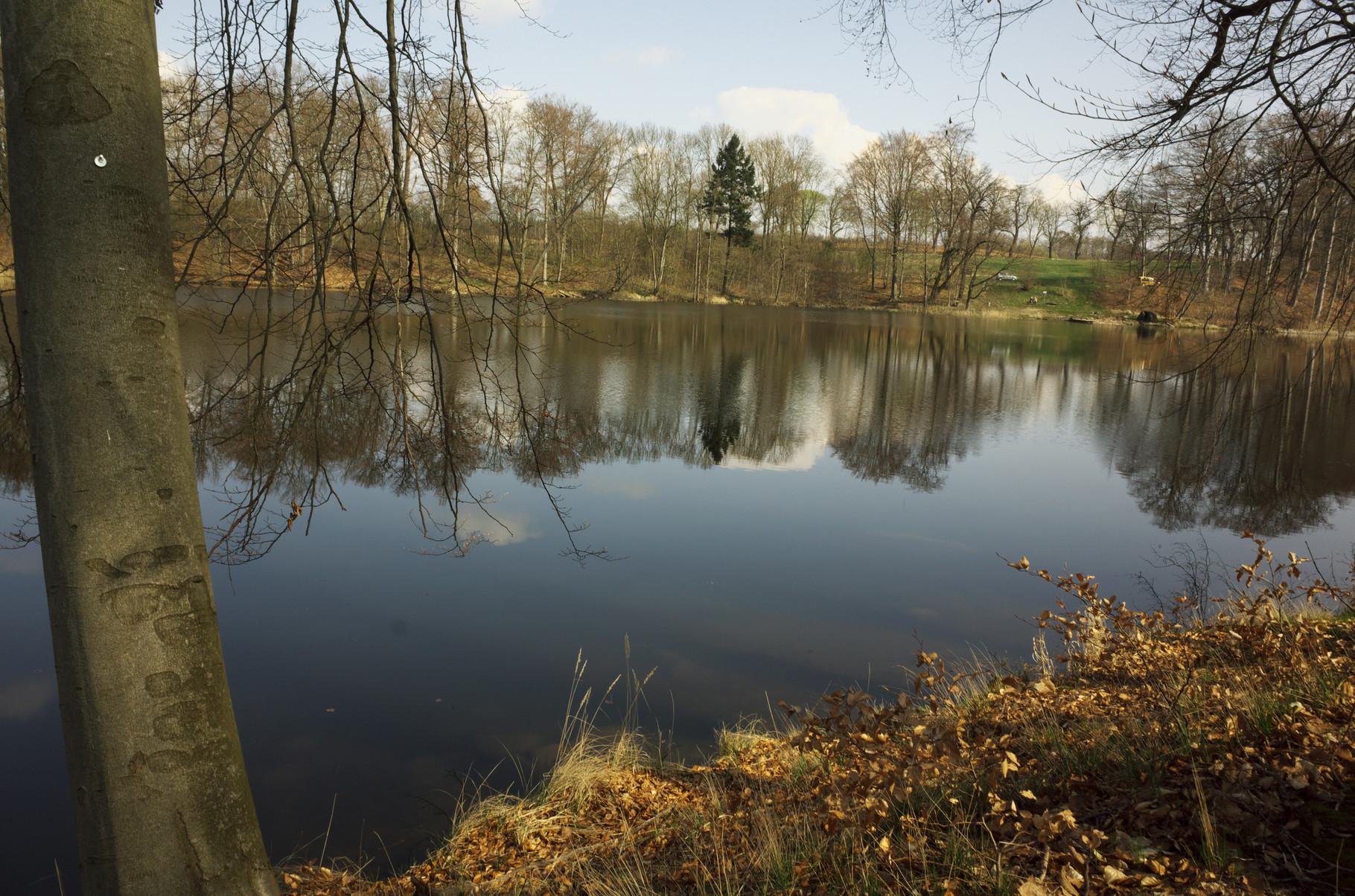 Der Huwenowsee bei Gransee/Uckermark am 09.04.2016