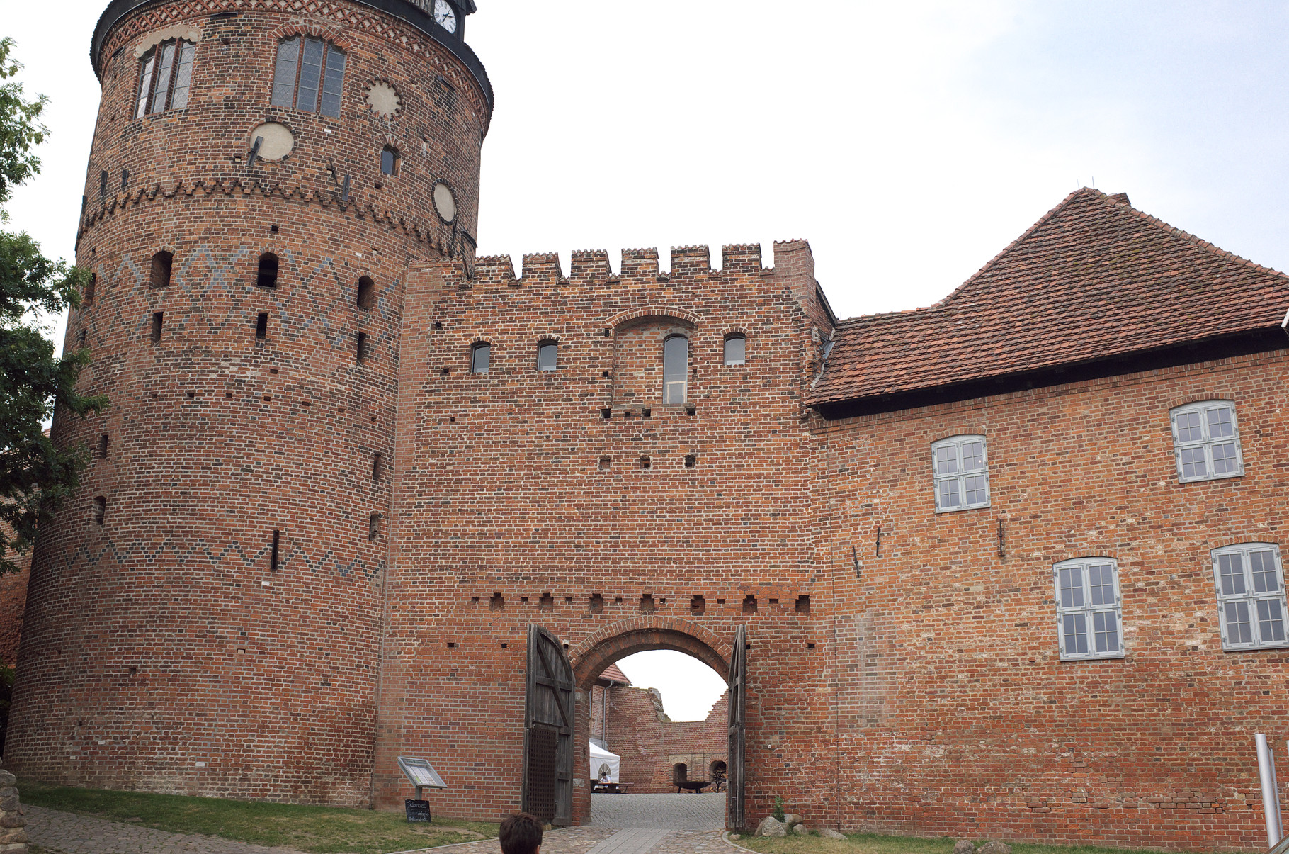 Burg in Neustadt-Glewe am 18.11.2015