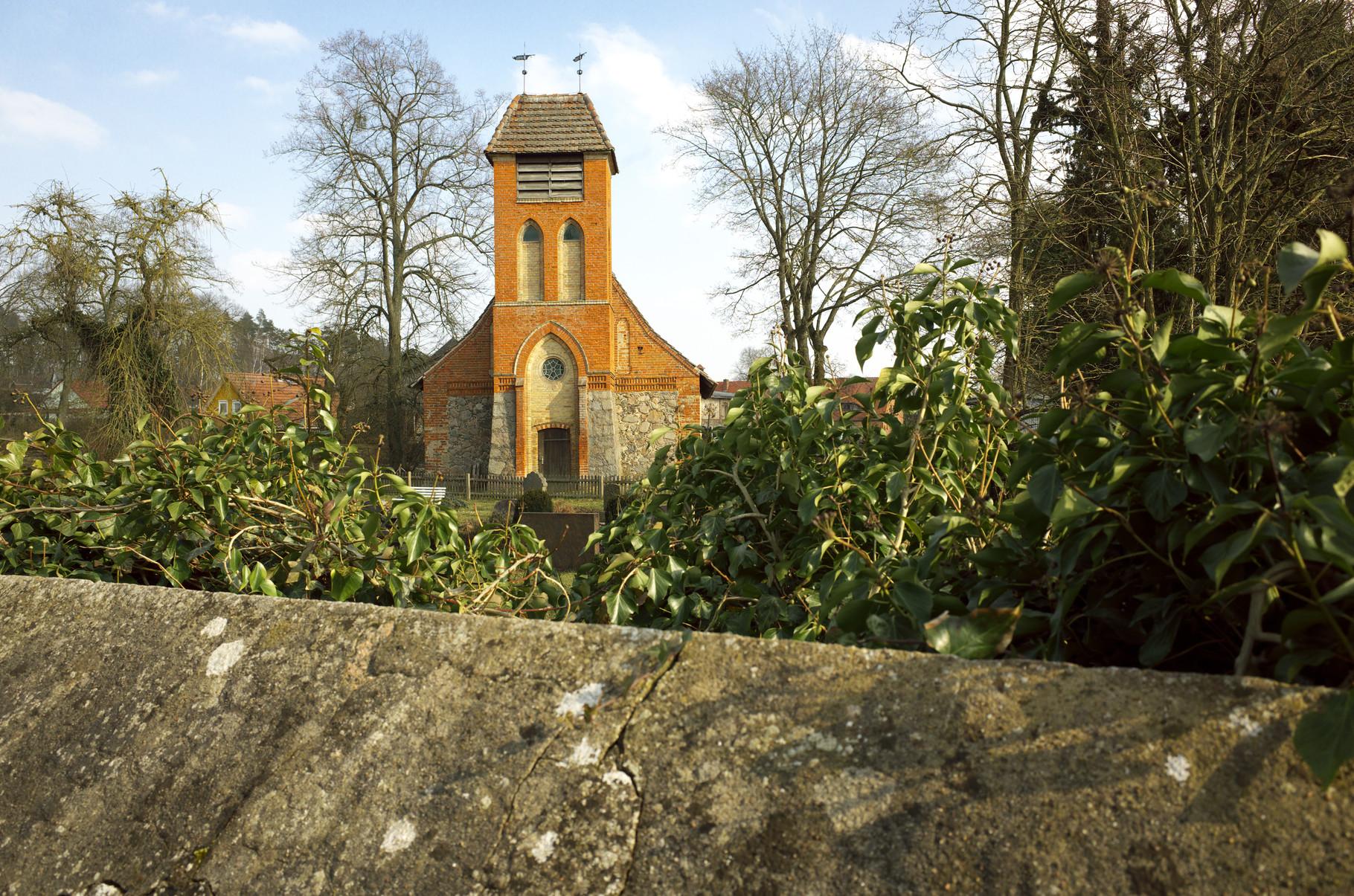 Dorfkirche von Alt Sammit am 09.03.2016