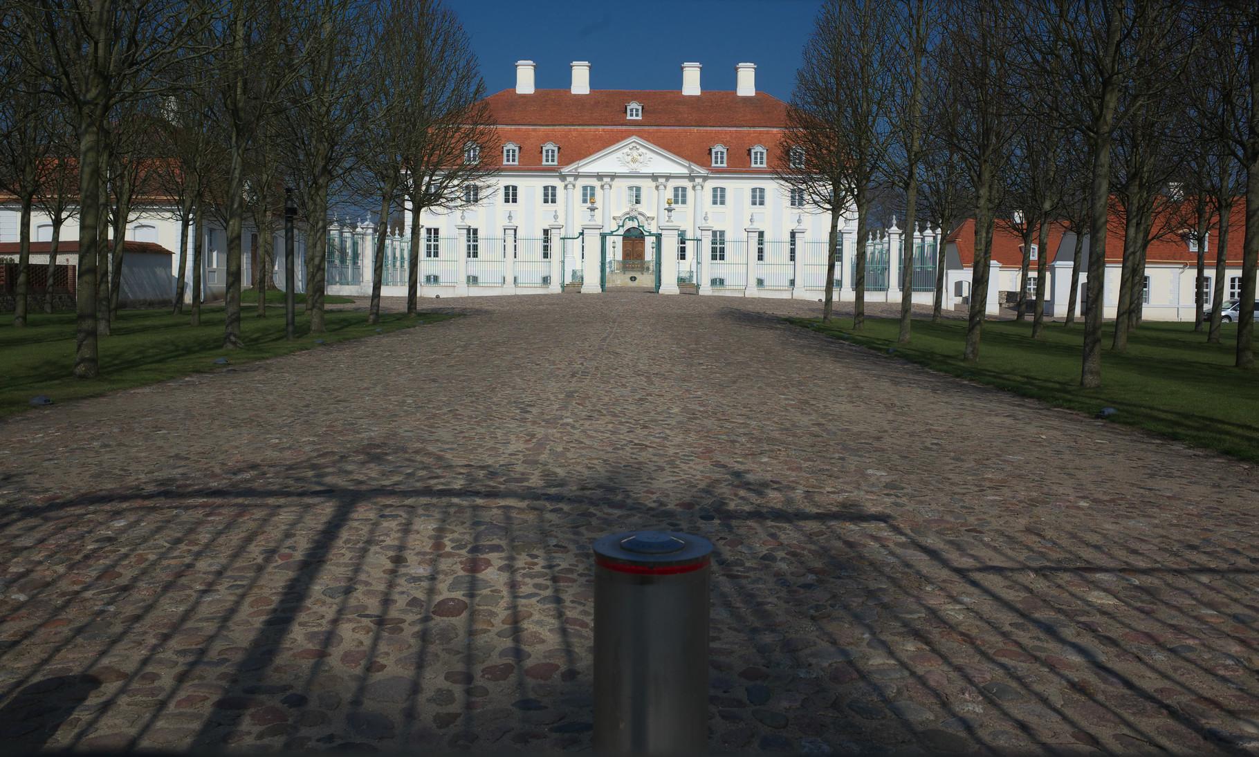 Schloss Meseberg - Gästehaus der Bundesregierung am 09.04.2016