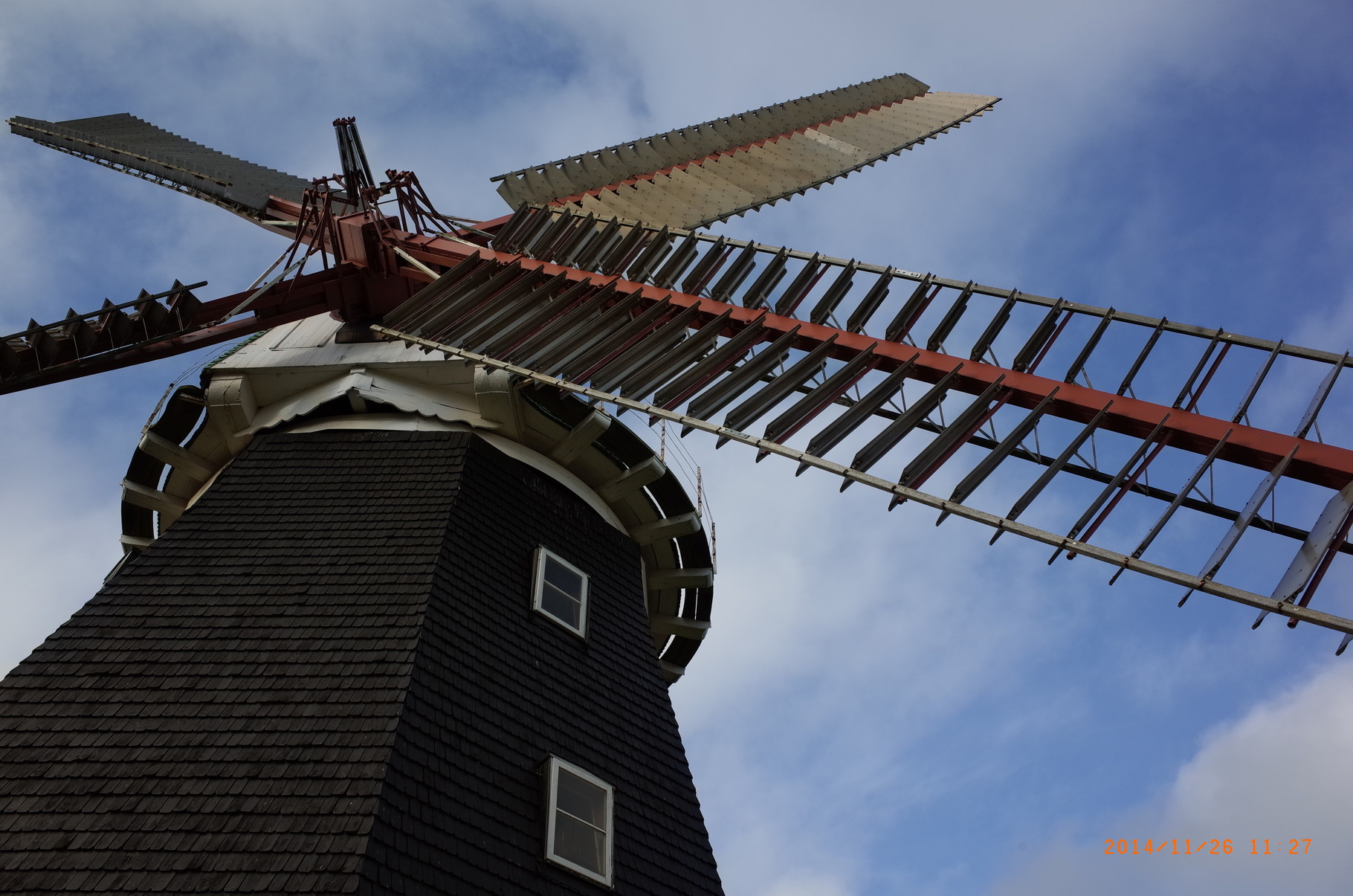 Holländerwindmühle Stove am 26.11.2014