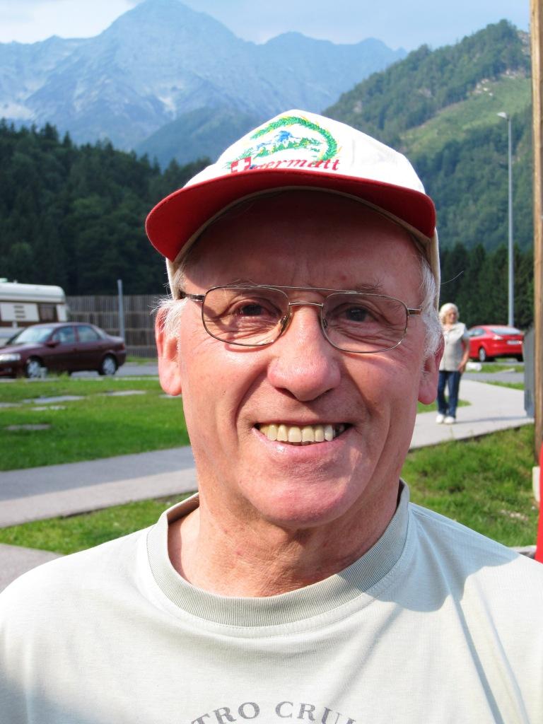 Walter Schwaiger feiert einen runden Geburtstag