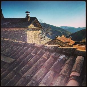 sur le toit !