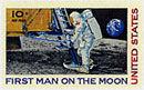Eagle d'Apollo 11 sur la Lune avec Armstrong