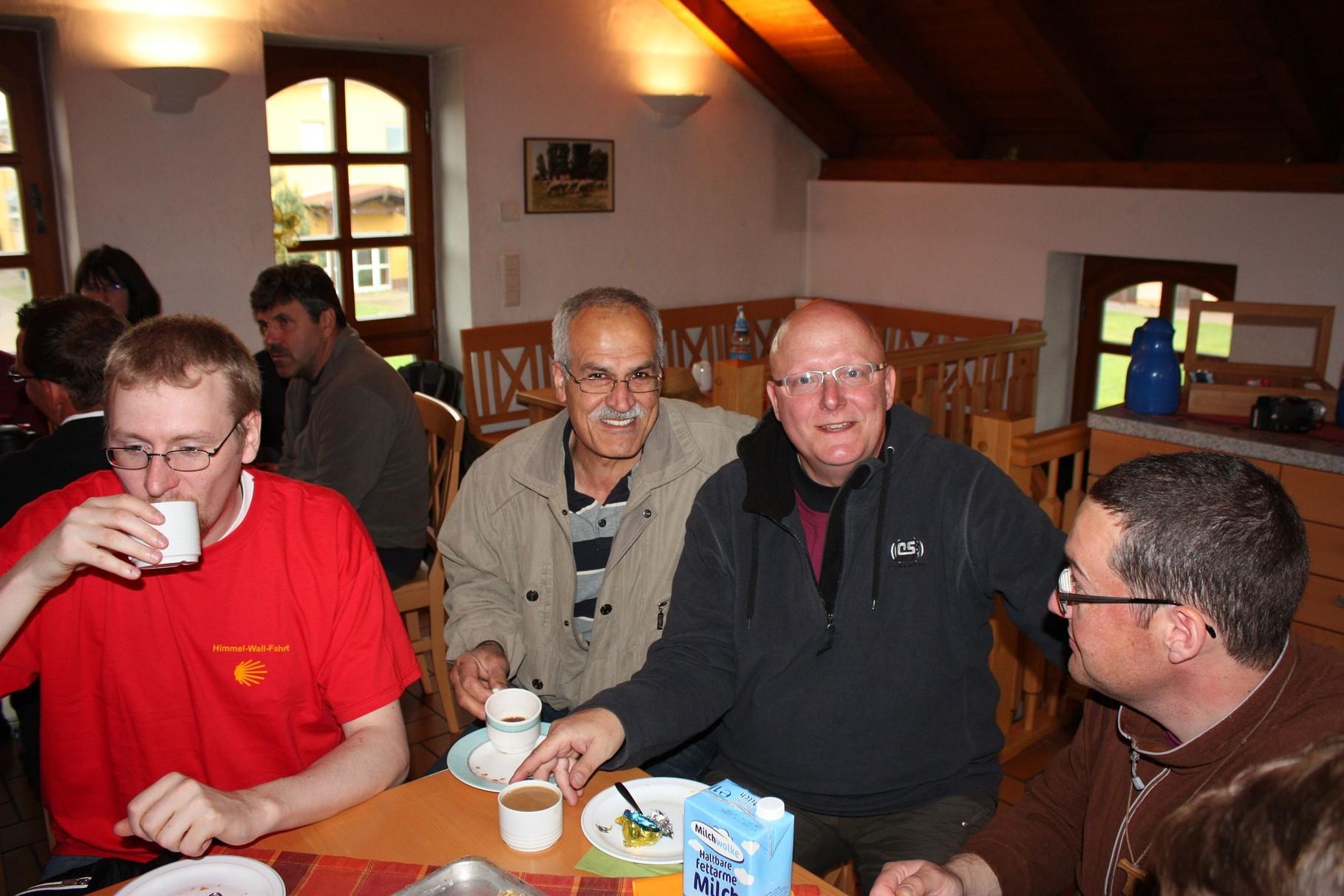 Kaffee und Kuchen auf der Fazenda
