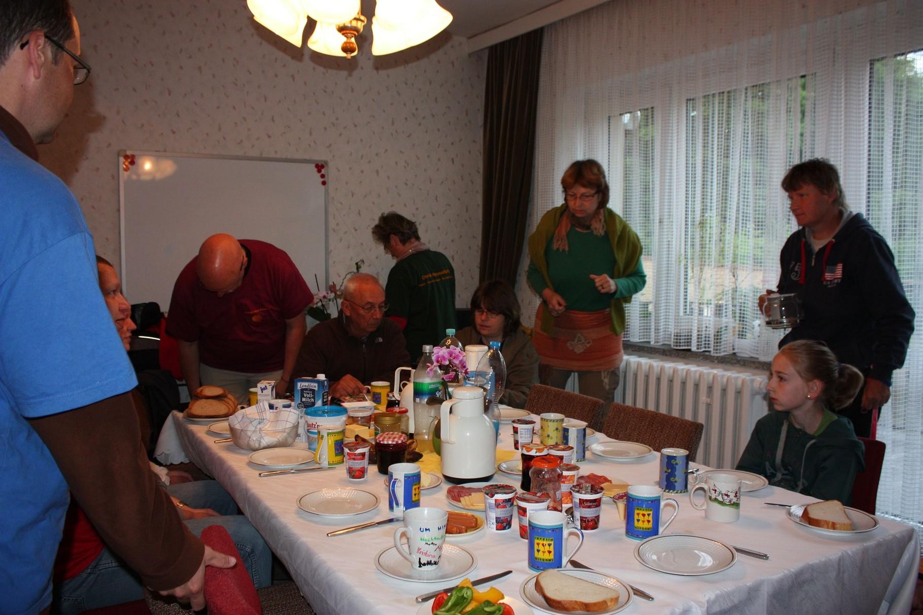 Frühstück in Neustadt