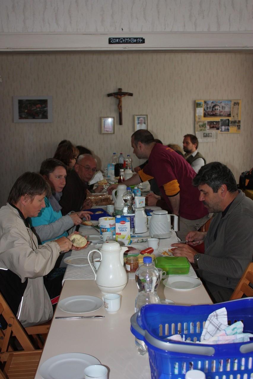 Frühstück in Ketzin