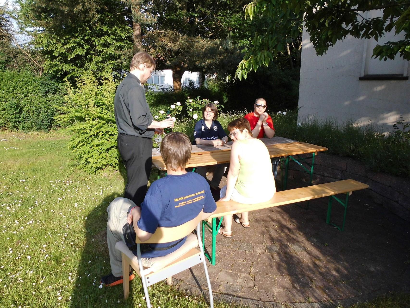Erste schöne Tage in Bad Belzig... wie im Paradies