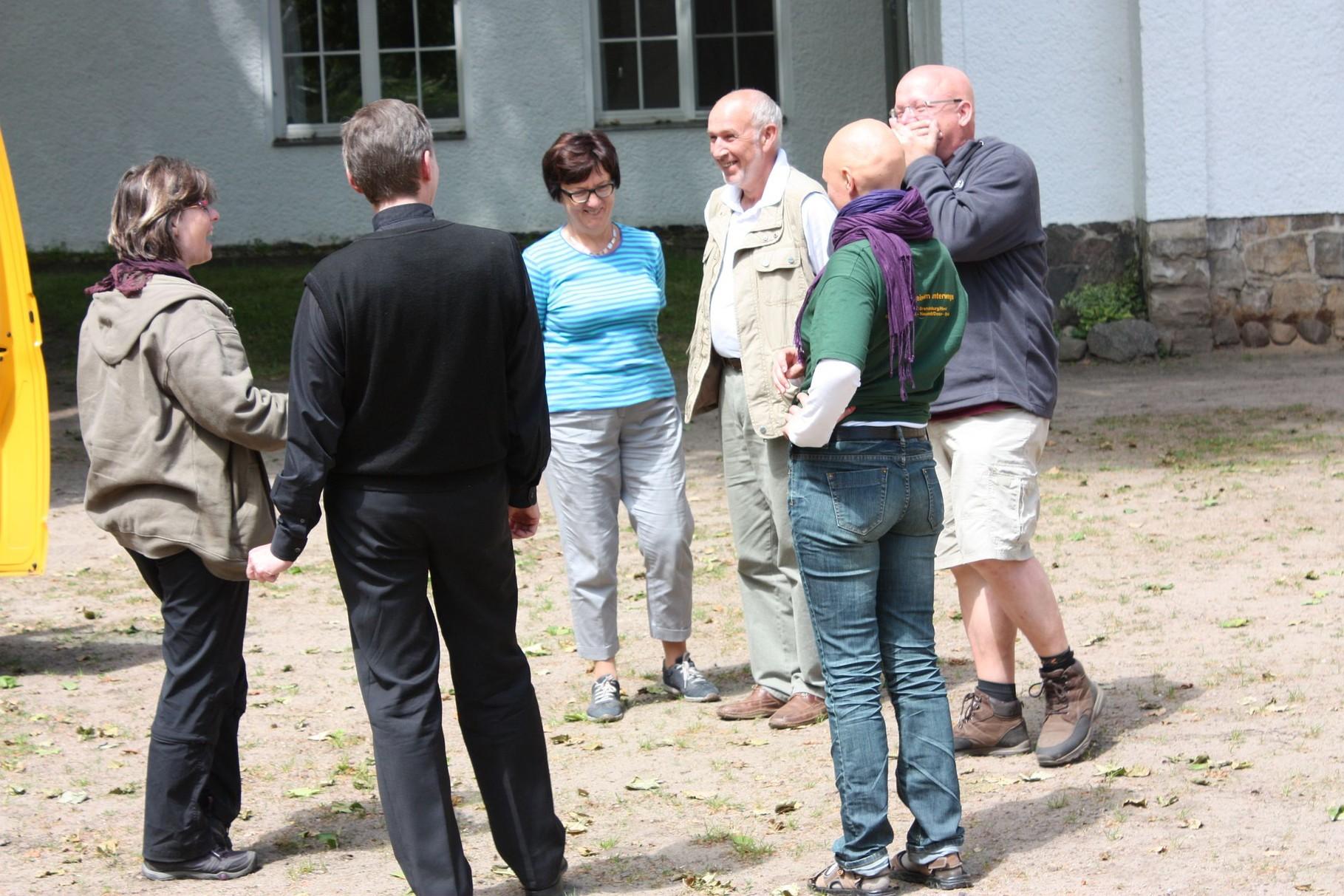 Aufräumen in Neustadt