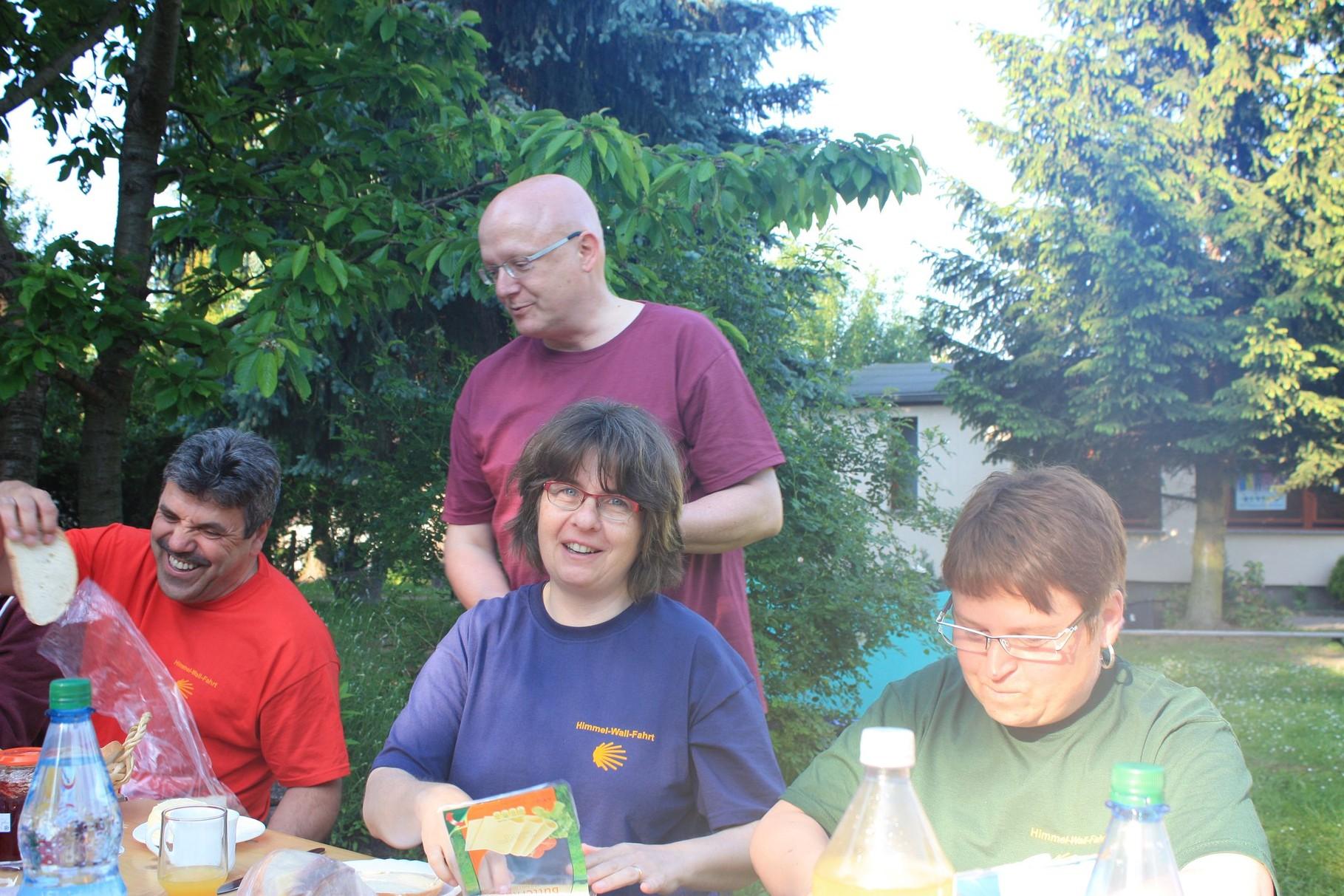 Gastfreundschaft in der Gemeinde St. Bonifatius in Bad Belzig