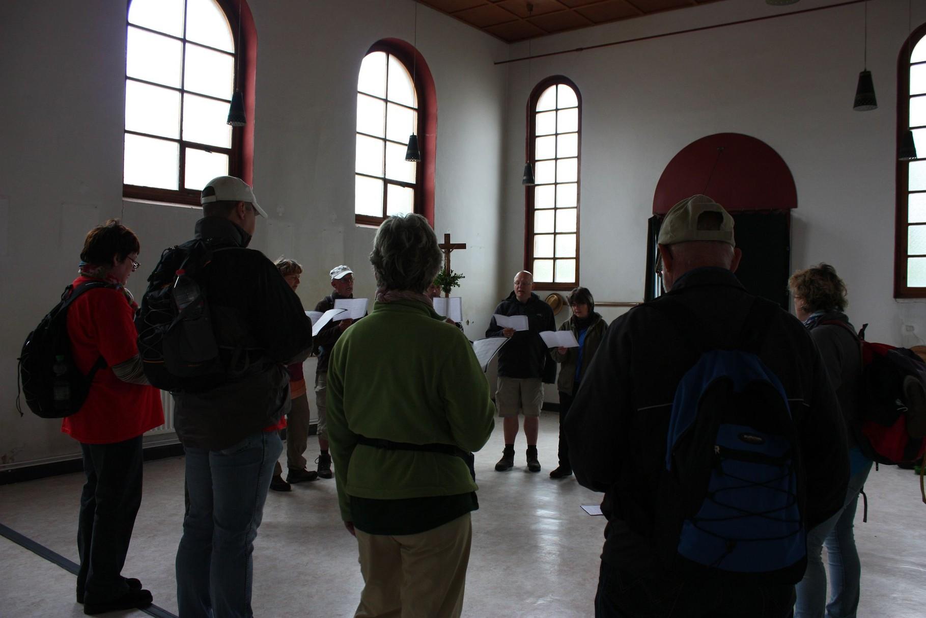 Statio in der Rosenkranzkapelle