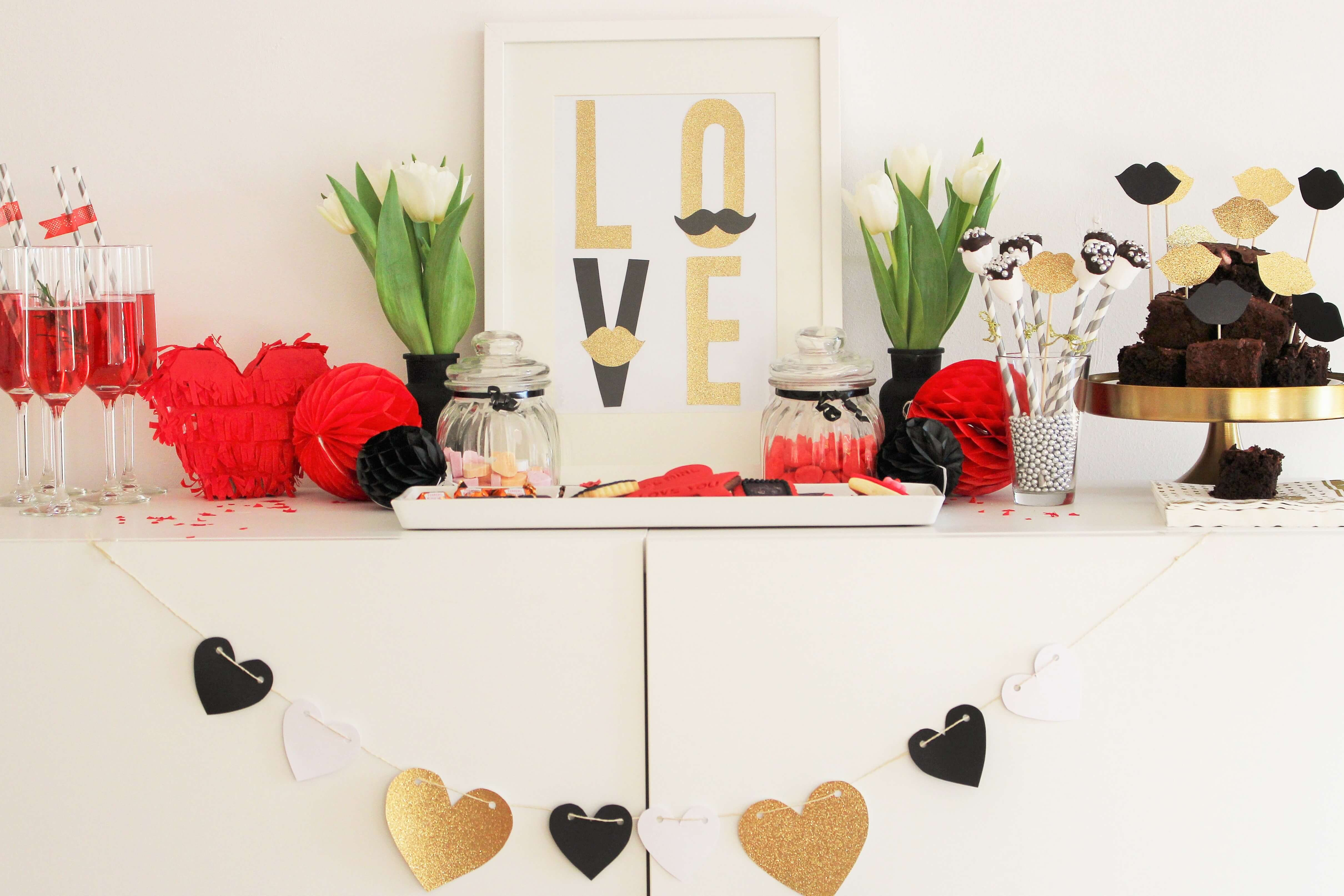 valentinstag sch n feiern last minute ideen f r deko geschenke und leckeres spreadlove. Black Bedroom Furniture Sets. Home Design Ideas