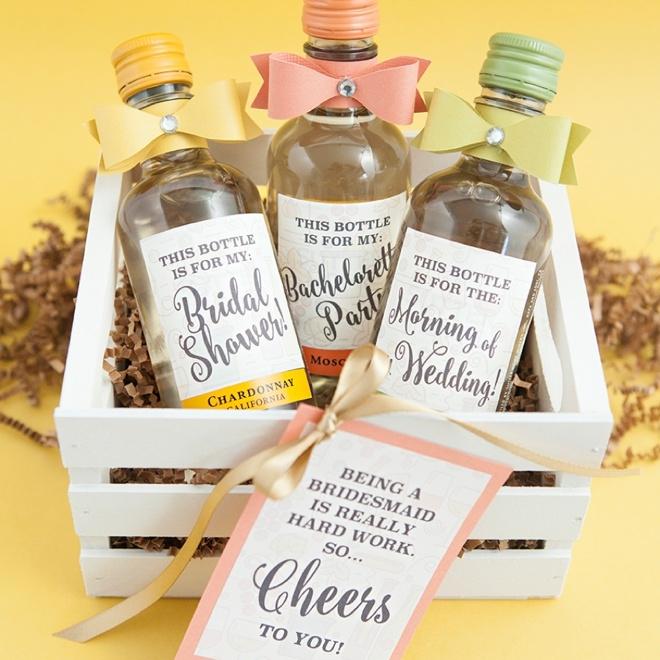 Bild: Geschenkideen für Trauzeugin und Brautjungfern, gefunden auf Partystories.de, von somethingturquoise