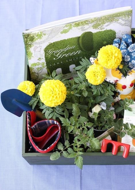 Bild: kreative DIY Ideen für den Osterkorb, Blumenkiste für  Ostern als Ostergeschenk, gefunden auf Partystories.de