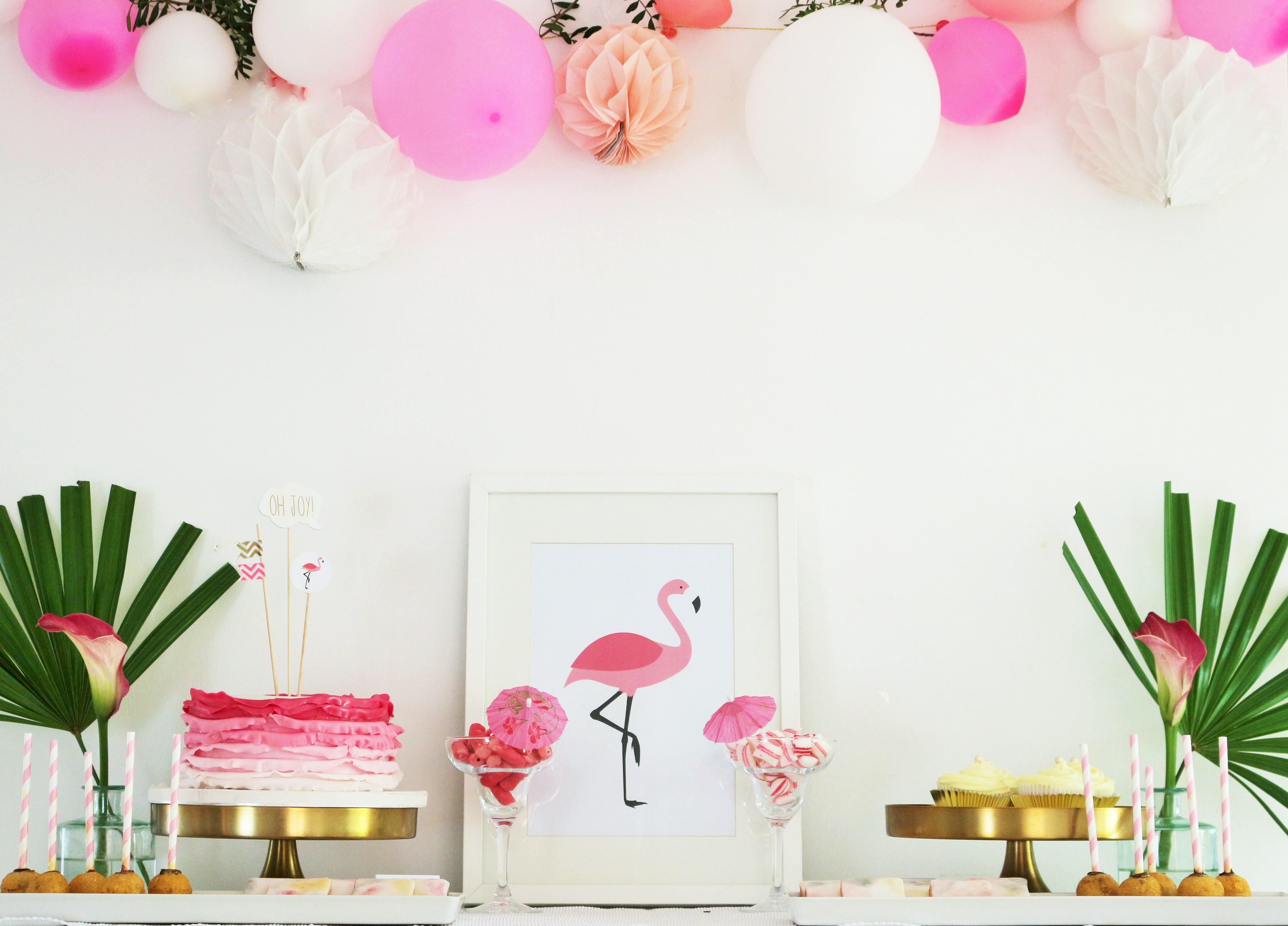 mottoparty im sommer diy und deko ideen f r eine flamingo party partystories blog. Black Bedroom Furniture Sets. Home Design Ideas