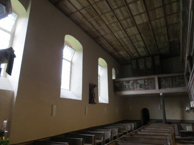 St. Wenzel Lettin Kalkanstrich südwest