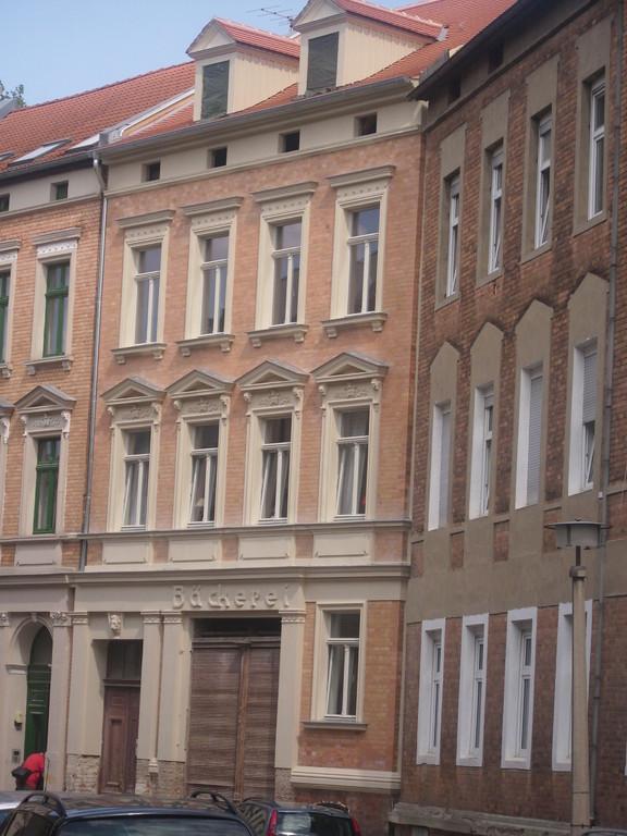 Klinkerstuckfassade mit Silikatanstrich