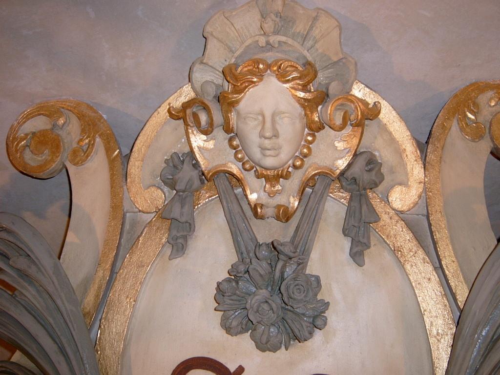 St. Katharien Ammendorf teilweise Restaurierung Hochalter