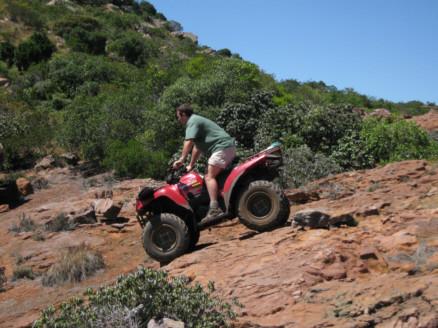 passaggi su roccia a Klipspringer range