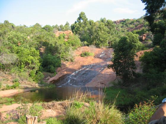 Le cascate dei Boscimani