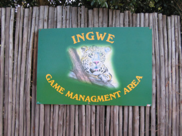Ingresso di Ingwe game management area
