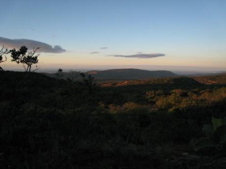 Vista sullo Zimbabwe da Ingwe