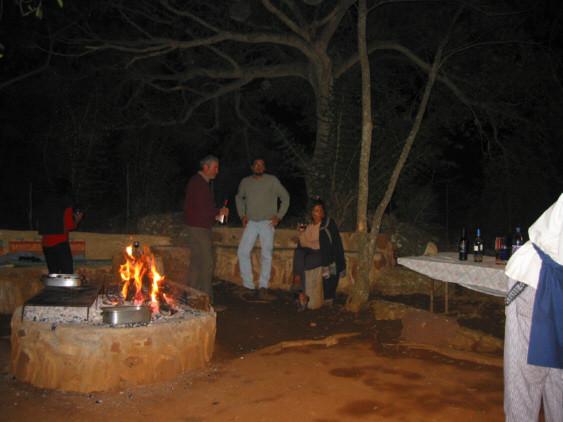 indawo yokosa ..il posto del braai, la tradizionale grigliata afrikaner