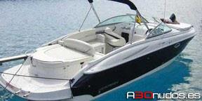 Alquiler barcos Ibiza: Monterey 268 SC en a30nudos.es