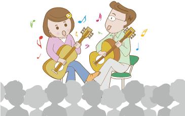 出張音楽イベント