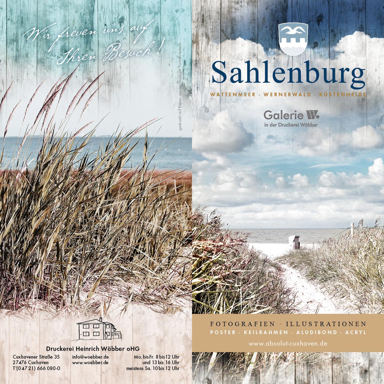 Galerie-Broschüre Sahlenburg