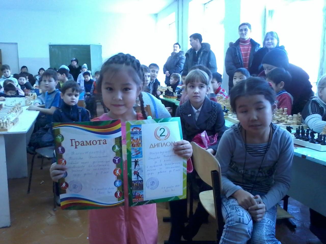 Баирова Катя - самая юная участница