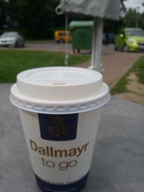 Kaffee ist ein kleines MUSS