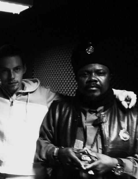 Luciano in the studio