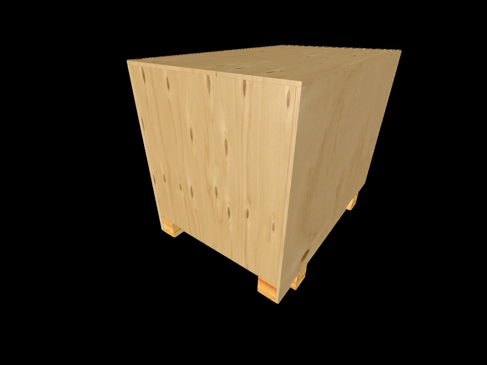 B3 Schwergutkiste mit OSB/Sperholzwänden