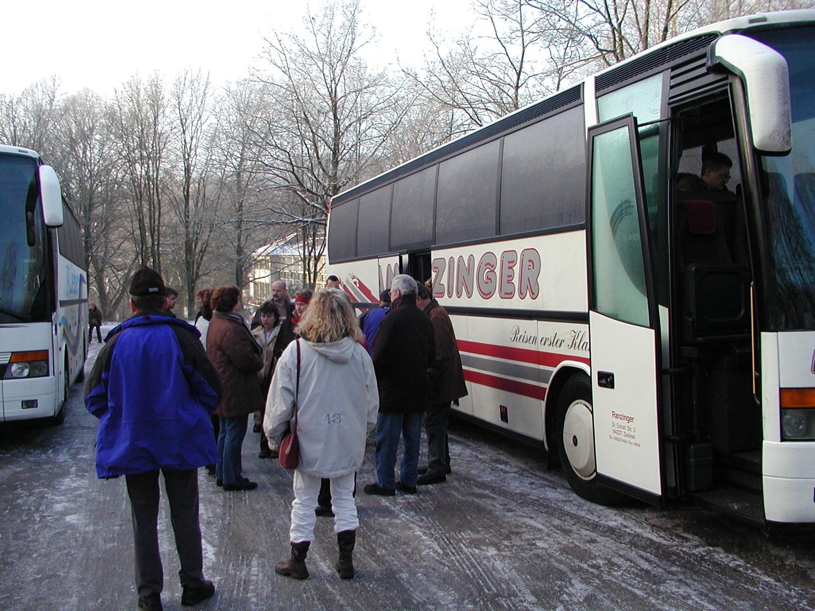 WM 2005 Hotelparkplatz