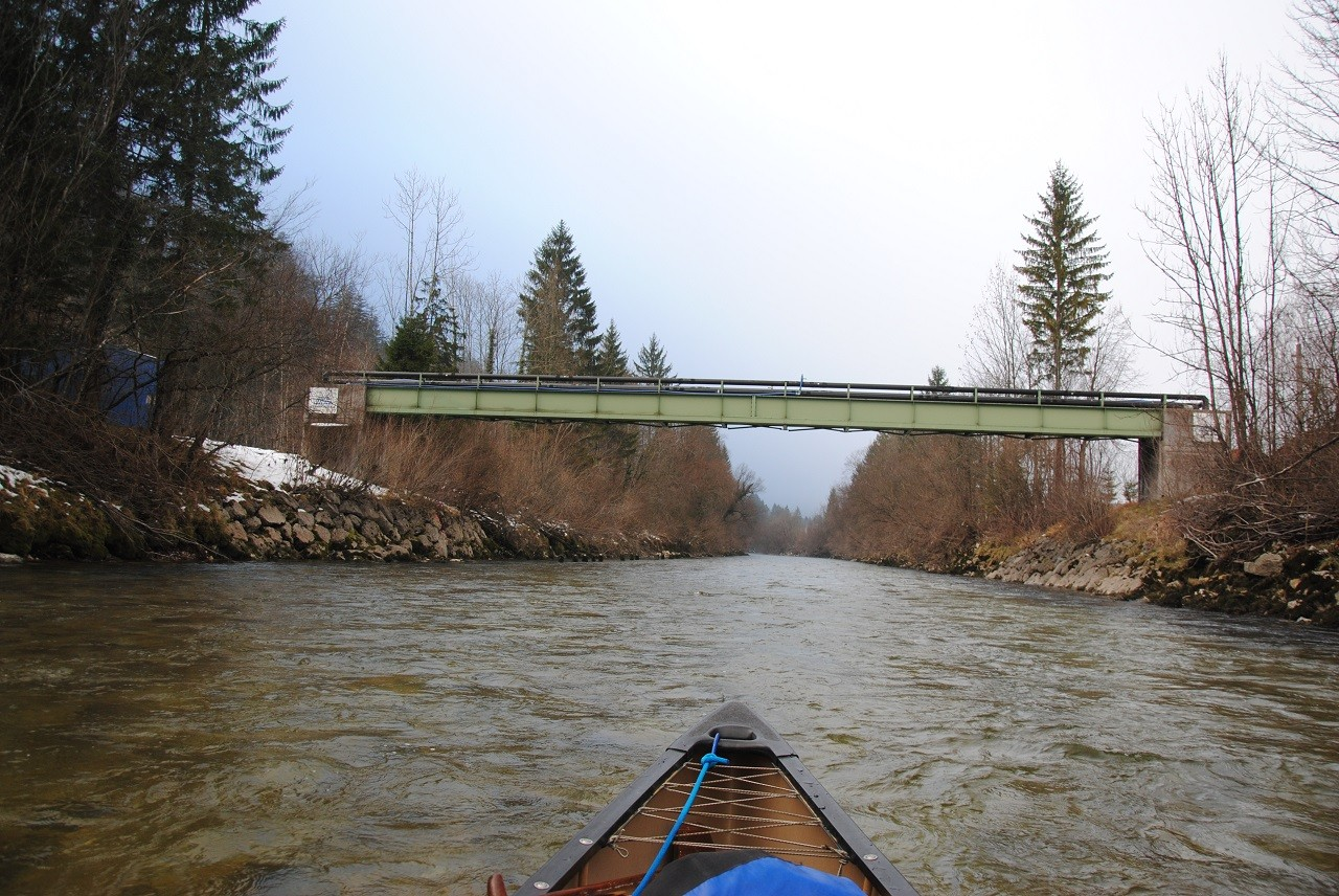 Brücke für Soleleitung nach Ebensee