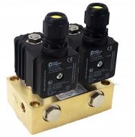 Mischventilblock / Special valve block for gas mixing