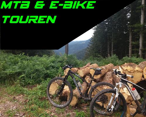 Mountainbike MTB und E-Bike Touren mit Pannen Workshop im Schwarzwald