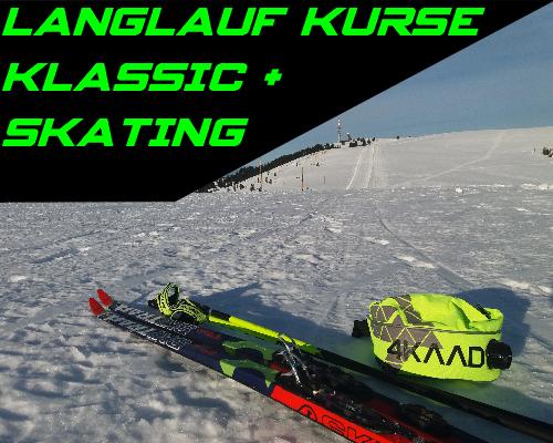 Langlaufkurse im Schwarzwald Skating und Classic für Anfänger und Fortgeschrittene