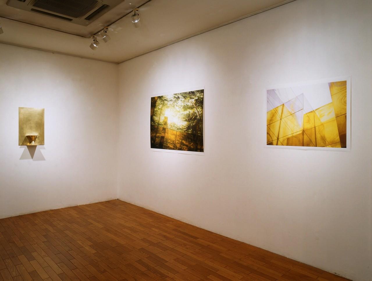 小林正樹展 Chain Link - 5   金属の立体と写真によるインスタレーション