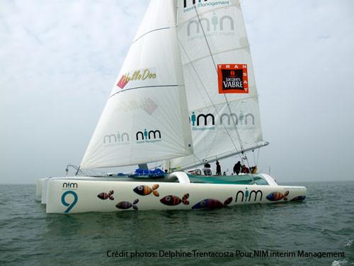 50 pieds , skipper Lalou Roucayrol