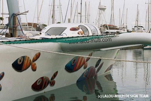 50 pieds, skipper Lalou Roucayrol